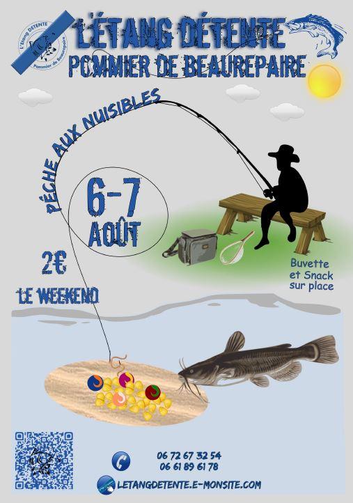 Affiche Pêche aux nuisibles