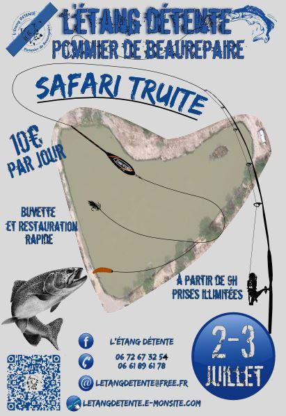Safari truite de peche